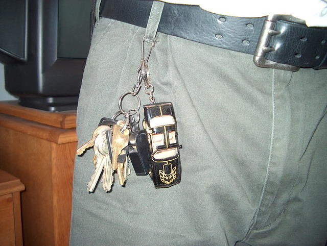 Your not a true Bandit fanatic unless you have one on your key chain!